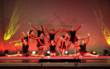 Gymnastics at Cirencester Dance Club