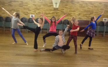 Contemporary at Cirencester Dance Club